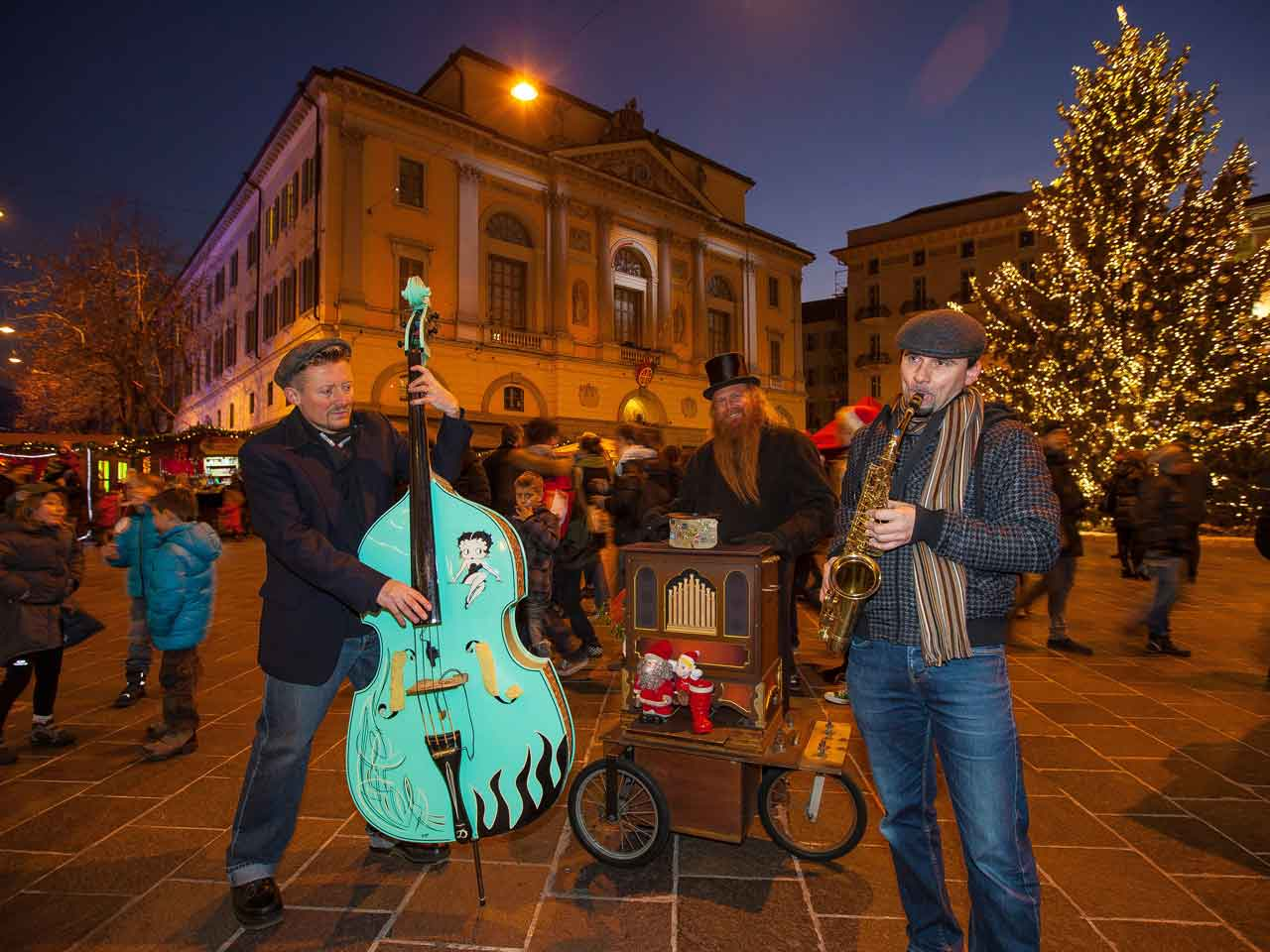 Natale in Piazza – Lugano in Feststimmung