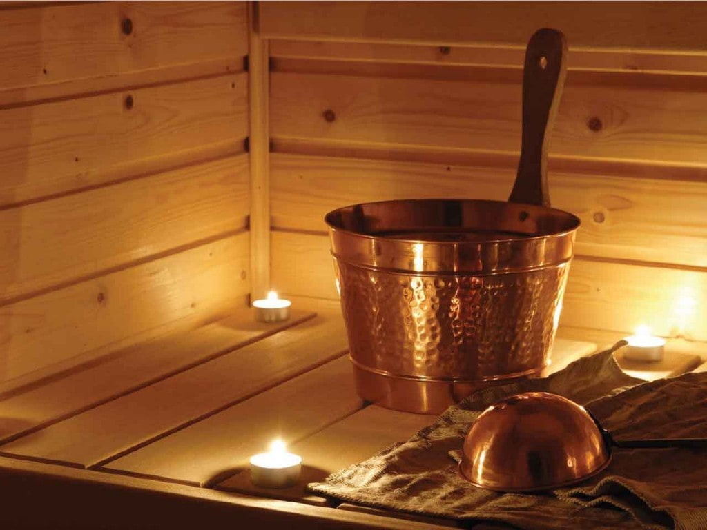 Sauna im Advent