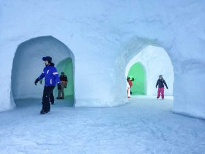 Ab aufs Glatteis – Igloo on Ice auf 1800 Meter
