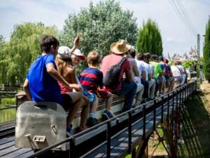 Schulreise in den Swiss Vapeur Parc