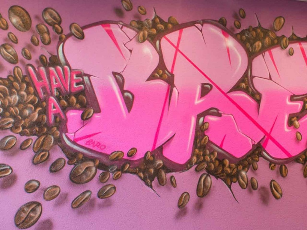 Kreaktiv Graffiti Workshop – einmal selber sprayen!
