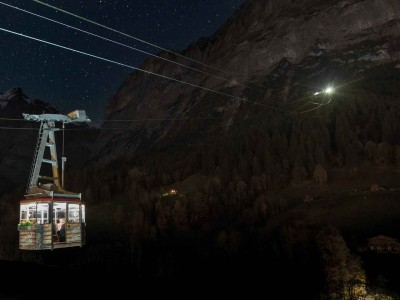 Pfingstegg – Candlelight-Dinner in der Luftseilbahn