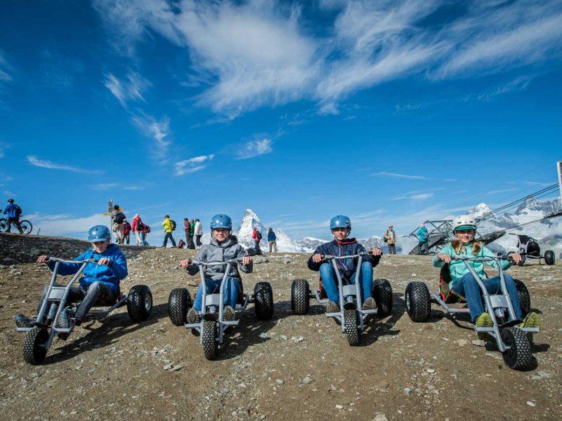 Mountaincarts – volle Kraft bergab!