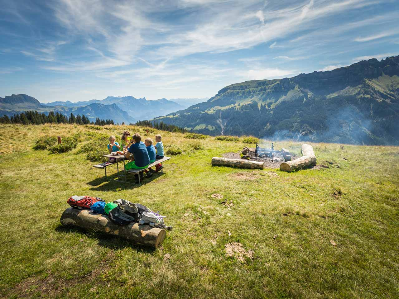 : Ostschweiz - Sagenerlebnisweg Flumserberg
