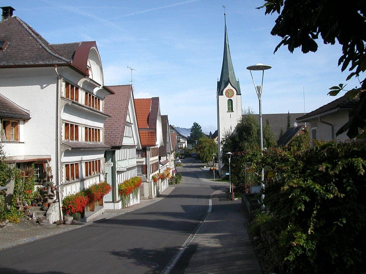 Hemberg – Dorfbild von nationaler Bedeutung