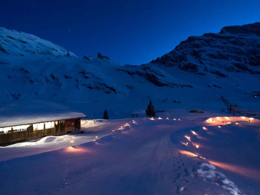 Trübsee Saturday Night – mit Snowtubing Park