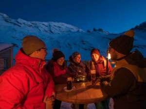 Silvester in den Bergen – am TITLIS