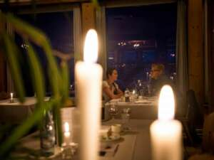 Romantisches CandleLight Dinner auf dem TITLIS