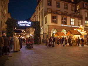 Christkindlimarkt in der Alpenstadt Chur