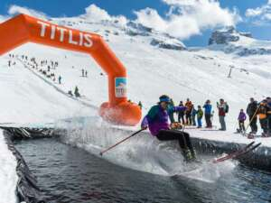 Waterslide Contest TITLIS