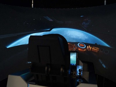 SPACE FIGHTER Simulator – Mission im Weltraum