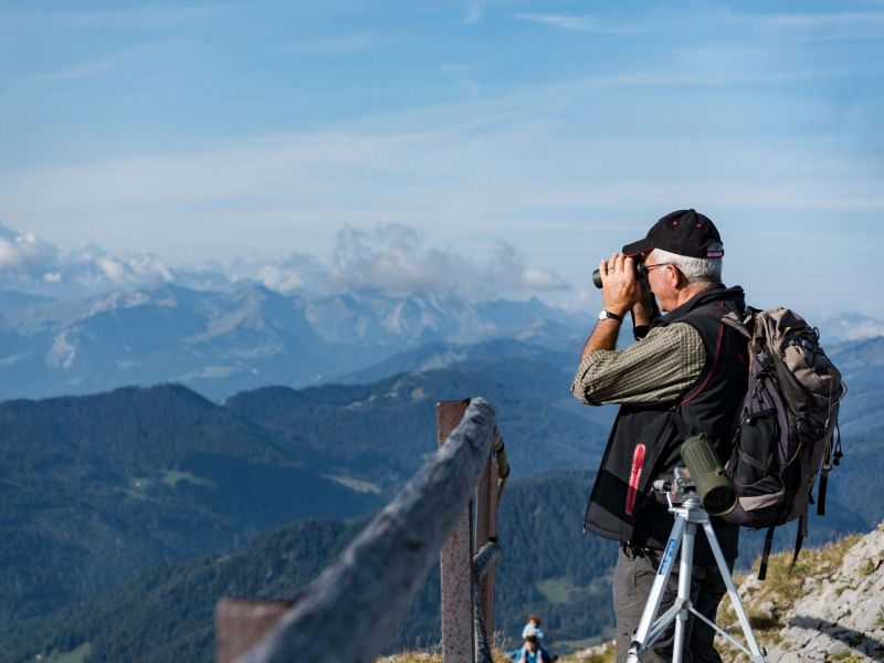 Panorama Wanderung Tomlishorn