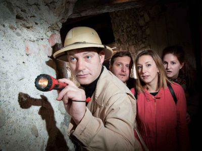 Mystery-Tour durchs dunkle Museum