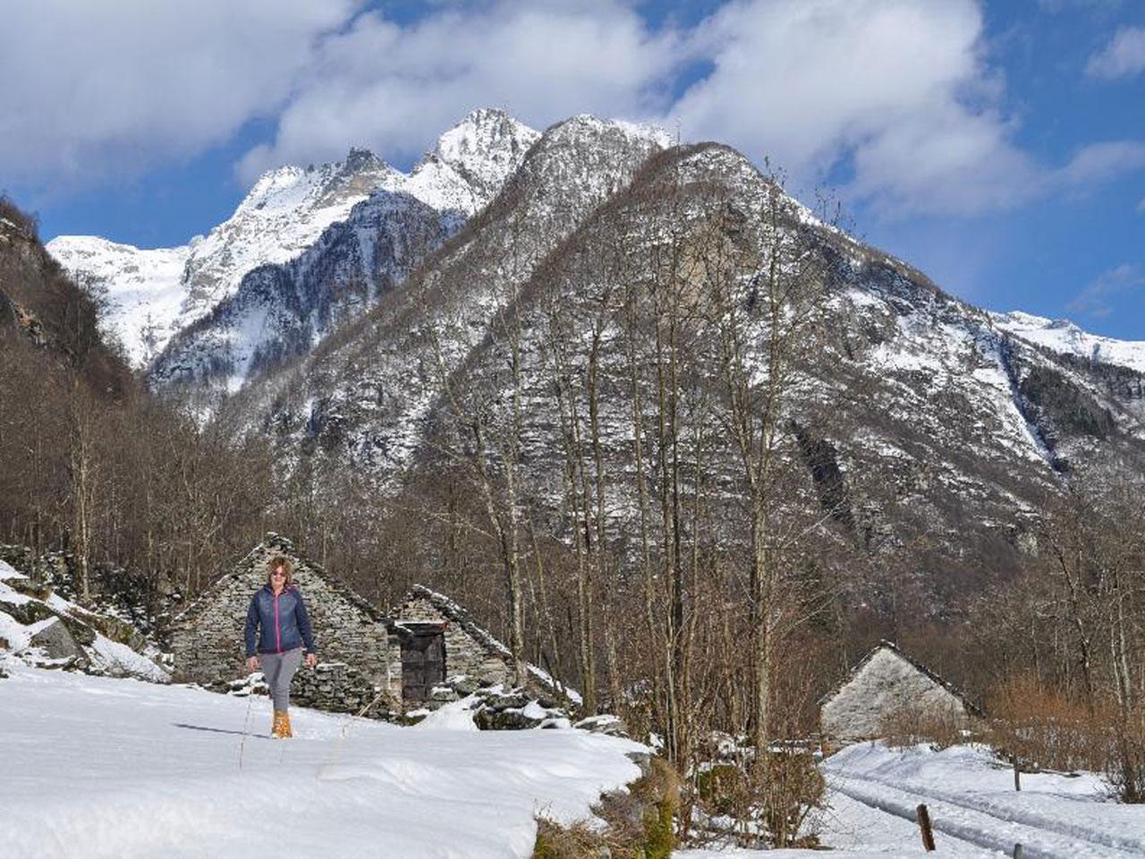 Winter im Valle Verzasca