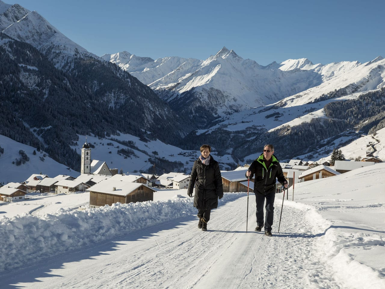 Winterwandern Surselva