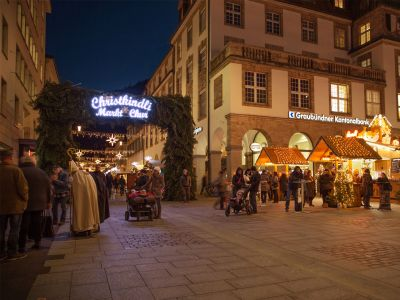 Christkindlimarkt in der Churer Innenstadt