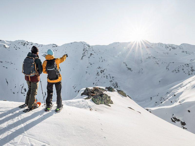Schneeschuh Wandern Davos